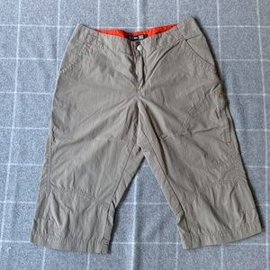 REI Long Tan Outdoor Shorts - 4